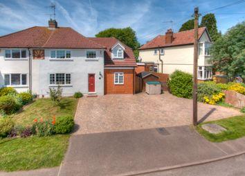 Thumbnail 4 bed semi-detached house for sale in Forebury Avenue, Sawbridgeworth