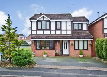 Thumbnail 4 bed detached house for sale in Thornbury Court, Perton, Wolverhampton