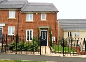 Thumbnail 3 bed terraced house for sale in Buttercup Walk, Dawlish