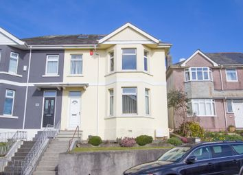 Thumbnail 4 bed semi-detached house for sale in Langstone Road, Peverell, Plymouth