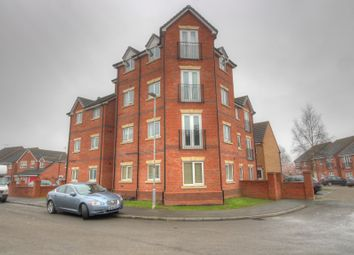 Thumbnail 1 bed flat for sale in Pickering Close, Stoney Stanton, Leicester