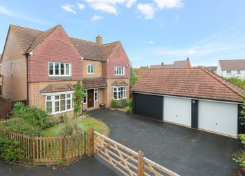 Thumbnail 5 bed detached house for sale in Southdown Close, Ashford