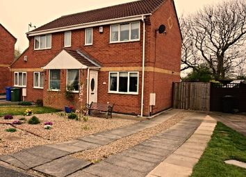 Thumbnail 2 bed semi-detached house for sale in Pasture Crescent, Filey