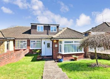 Thumbnail 4 bed semi-detached bungalow for sale in Northumberland Road, Istead Rise, Kent