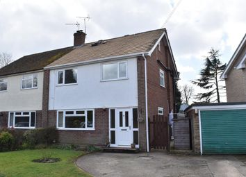 Thumbnail 4 bed semi-detached house for sale in Foxhurst Road, Ash Vale