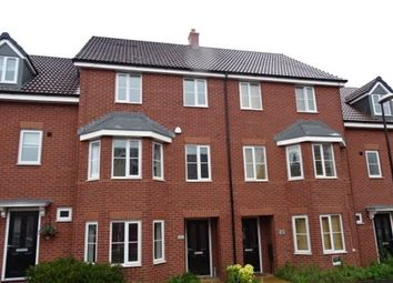 Thumbnail 4 bed terraced house to rent in Shropshire Drive, Stoke Village