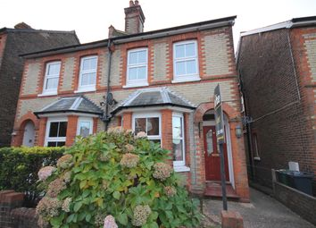 Thumbnail 4 bed semi-detached house to rent in Cornfield Road, Reigate, Surrey