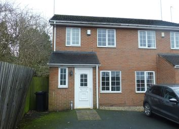 Thumbnail 3 bed semi-detached house for sale in Edwinstowe Close, Brierley Hill
