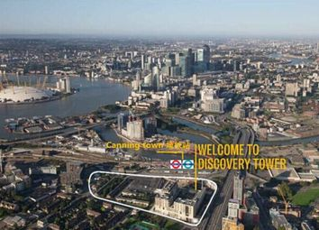 Thumbnail 1 bed flat for sale in Discovery Tower, Hallsville Quarter, Canning Town