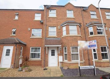 Thumbnail 3 bed town house for sale in Colossus Way, Bletchley Park, Milton Keynes