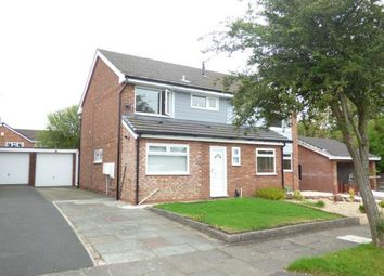 Thumbnail 3 bed semi-detached house for sale in Tuscan Close, Widnes, Cheshire