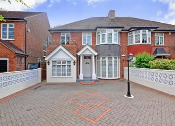 Thumbnail 4 bed semi-detached house for sale in Hermitage Walk, London