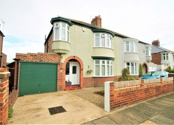 Thumbnail 3 bed semi-detached house for sale in Crayke Road, Stockton-On-Tees