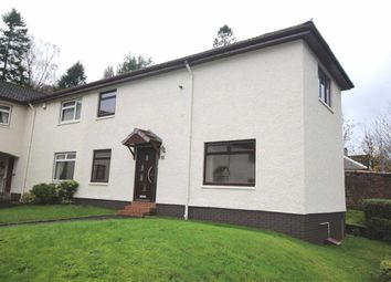 Thumbnail 2 bed end terrace house for sale in Stoneleigh Place, Greenock
