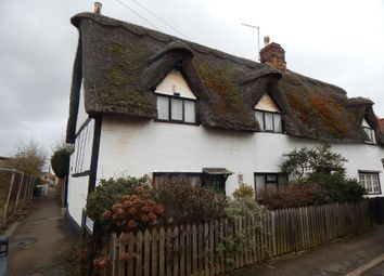 Thumbnail 2 bed cottage for sale in 13 Low Cross, Whittlesey, Peterborough, Cambridgeshire