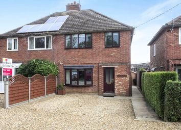 Thumbnail 3 bed semi-detached house for sale in Spalding Common, Spalding