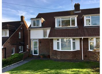 Thumbnail 3 bed semi-detached house for sale in Cranfield Crescent, Cuffley