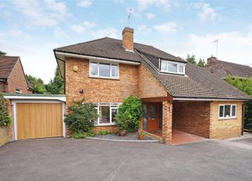 Thumbnail 4 bed detached house for sale in Brooklands Road, Weybridge, Surrey