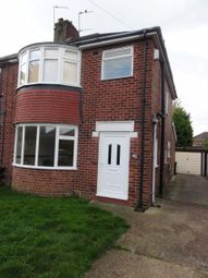 Thumbnail 3 bed semi-detached house to rent in Liverpool Avenue, Doncaster, South Yorkshire