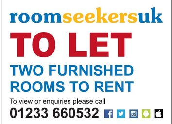 Thumbnail 2 bed shared accommodation to rent in Tyndale Park, Herne Bay