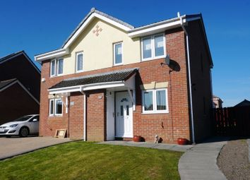Thumbnail 2 bed semi-detached house for sale in Forsa Court, Lindsayfield, East Kilbride