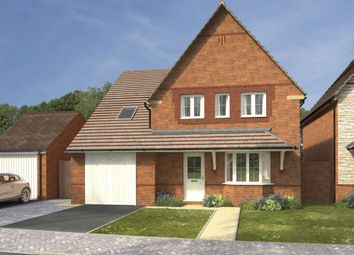 """Thumbnail 4 bed detached house for sale in """"Harrogate"""" at High Street, Watchfield, Swindon"""