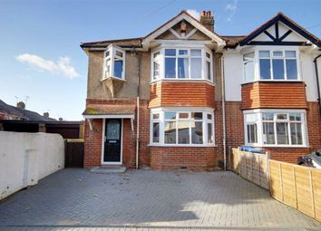 3 bed semi-detached house for sale in Normandy Road, Broadwater, Worthing, West Sussex BN14