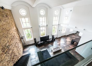 Thumbnail 3 bed flat for sale in Makepeace Road, London