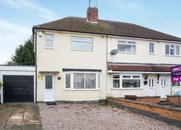 Thumbnail 2 bed semi-detached house for sale in Gwendolin Avenue, Leicester