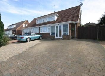 Thumbnail 3 bed bungalow for sale in Wadhurst Avenue, Luton, Bedfordshire