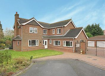 Thumbnail 4 bed detached house for sale in Mount Royale Close, Ulceby