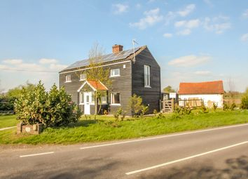 Thumbnail 3 bed detached house for sale in Stradishall, Newmarket