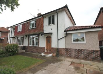 Thumbnail 3 bed semi-detached house for sale in Bude Avenue, Urmston, Manchester