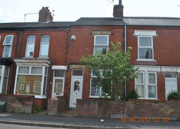 Thumbnail 2 bed terraced house to rent in Fox Street, Scunthorpe