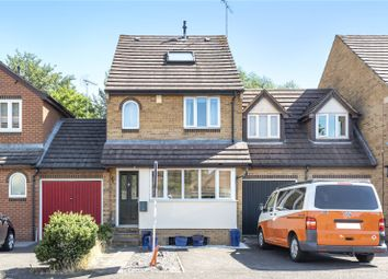 Thumbnail 4 bed semi-detached house for sale in High Meadow Place, Chertsey, Surrey