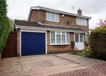 Thumbnail 4 bed detached house for sale in Ashdale, Coalville