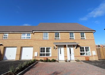Thumbnail 3 bed terraced house for sale in Fells Paddock, Marston Moretaine