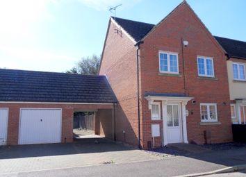 Thumbnail 3 bed end terrace house for sale in Kenzie Drive, Sutton Bridge, Spalding, Lincolnshire