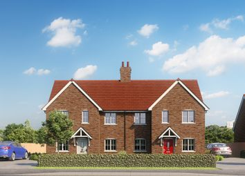 Thumbnail 4 bed semi-detached house for sale in Plot 9 'turveys Field', Mill Lane, Houghton Conquest