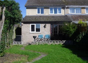 Thumbnail 3 bed semi-detached house to rent in Vicarage Road, Thetford