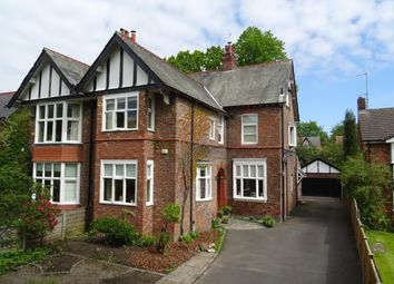 Thumbnail 5 bed semi-detached house for sale in Grove Avenue, Wilmslow