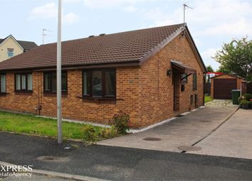 Thumbnail 2 bed semi-detached bungalow for sale in Kerridge Drive, Bredbury, Stockport, Cheshire