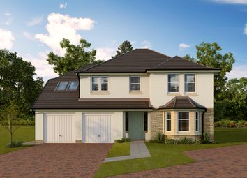 Thumbnail 5 bed detached house for sale in Cawburn Road, Uphall Station