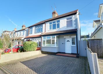 Thumbnail 3 bed semi-detached house for sale in Oakleigh Park Drive, Leigh-On-Sea, Essex