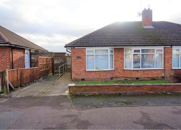 Thumbnail 2 bed semi-detached bungalow for sale in Chestnut Avenue, Oadby