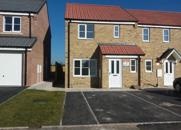 Thumbnail 3 bedroom end terrace house to rent in President Place, Harworth, Doncaster