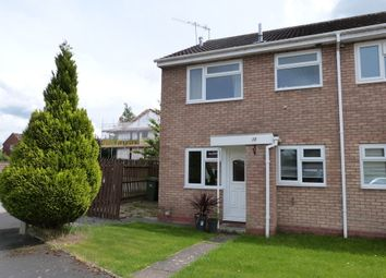 Thumbnail 1 bed end terrace house to rent in Henley Drive, Droitwich