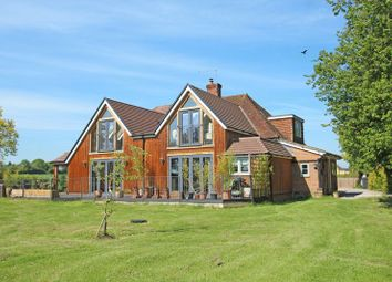 Thumbnail 5 bed detached house for sale in East Dean Road, Lockerley, Romsey