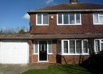 Thumbnail 3 bed semi-detached house to rent in Little Copse Road, Hassocks