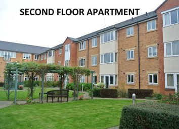 Thumbnail 2 bed flat for sale in Browning Court, Bourne, Lincolnshire